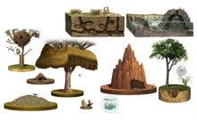 CGイラスト図鑑-動物の巣