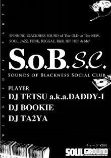 $DJ TETSU-S.o.B. Social Club