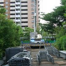 マンションの改修工事