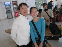 歩き人ふみの徒歩世界旅行 日本・台湾編-空港にて1