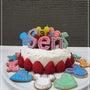 懐かしい誕生日ケーキ