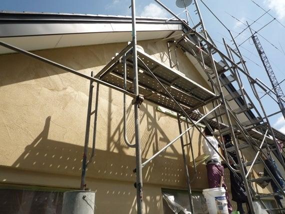 リノベーションで北海道の豊かな暮らし-左官の壁、札幌リノベーション住宅