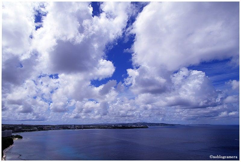 のぶろぐキャメラ-雲と海原