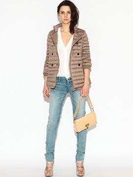 30代毒女のファッションブログ,strech loose skinny