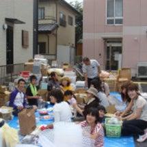 第2回支援物資収集の…