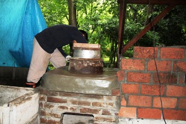 石窯のあるロハスな田舎生活-kamado