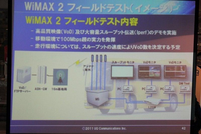 NEC特選街情報 NX-Station Blog-WiMAX2 フィールドテスト