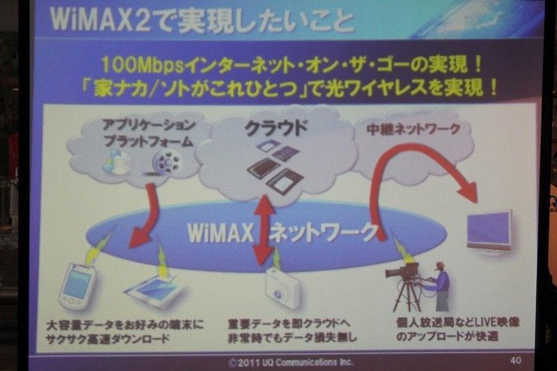 NEC特選街情報 NX-Station Blog-WiMAX2で実現したいこと