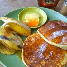 ★パンケーキで朝食を…