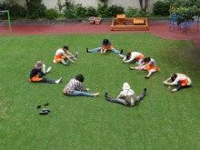 地域にひろがる「まちなか」の校庭芝生たち!-月島1