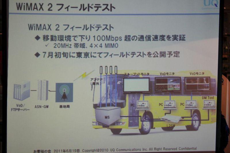 NEC特選街情報 NX-Station Blog-WiMAX2フィールドテスト