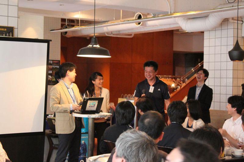 NEC特選街情報 NX-Station Blog-UQ WiMAX 会の一コマ
