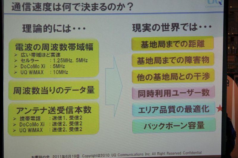 NEC特選街情報 NX-Station Blog-通信速度は何で決まるのか?