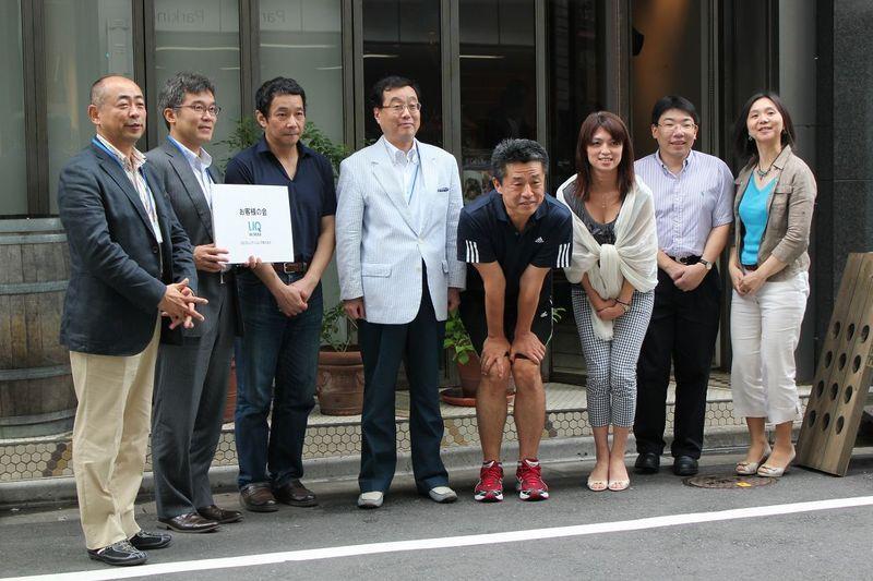 NEC特選街情報 NX-Station Blog-UQC総選挙 トップチーム記念撮影