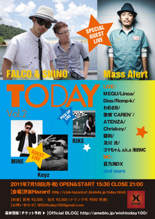 $today Official BLOG-『Today vol.2』フライヤー