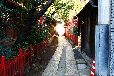 東條的世界最古の国へようこそ-下谷神社1
