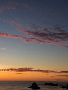 小笠原エコツアー 小笠原エコツーリズム  小笠原旅行 小笠原観光 小笠原の情報と自然を紹介します-夕日