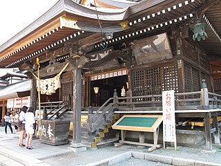 晴れのち曇り時々Ameブロ-桜山神社本殿