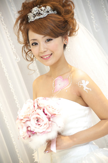 bridal body jewelry Gelsomio~ジェルソミーノ~