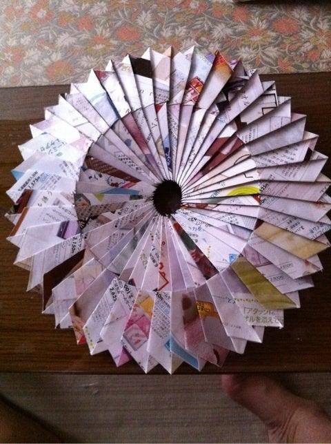 ハート 折り紙 折り紙鍋敷き作り方 : ameblo.jp