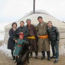 モンゴル人遊牧民に嫁…