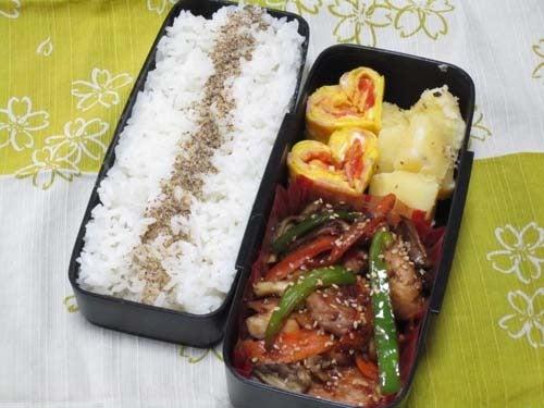 韓国料理サランヘヨ♪ I Love Korean Food-鶏肉のプルコギ
