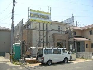 徳島県で家を建てるならサーロジック-外壁工事