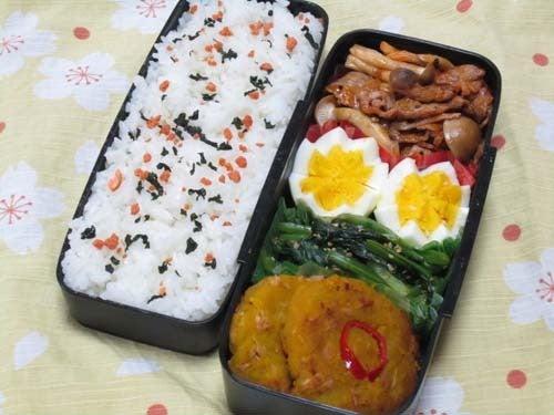 韓国料理サランヘヨ♪ I Love Korean Food-かぼちゃとシーチキンのチヂミ