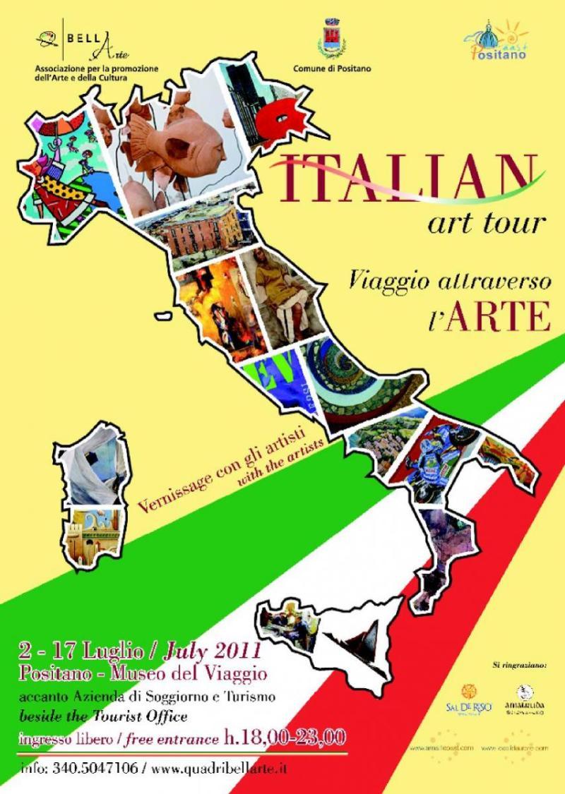 【彼女の恋した南イタリア】 ~ diario-ポジターノで開催中 イタリアンアートツアー