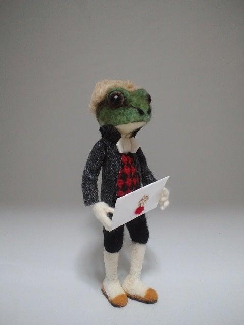 蛙の召使い