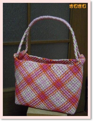 石畳斜め編み20110705