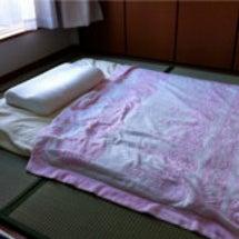 ベッドからタタミ+布…