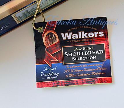 英国アンティークス・オフィシャルブログ-Royal Wedding Shortbread