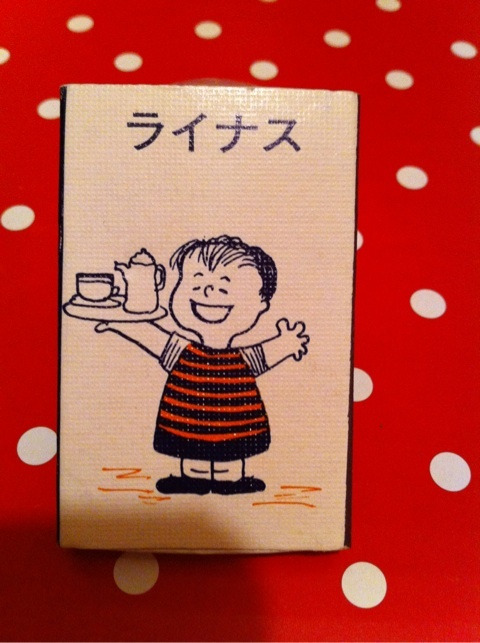 Little knitterのお茶とお花とひとりごと。マッチ箱20大阪「coffee shop ライナス」。