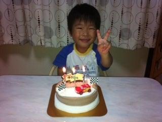 リャンチーのアジング&子育て日記-悠史の誕生日