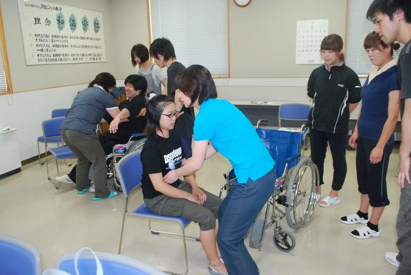 庄内余目病院のブログ-車椅子移動