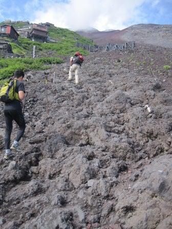 チョコレート王国への旅-岩
