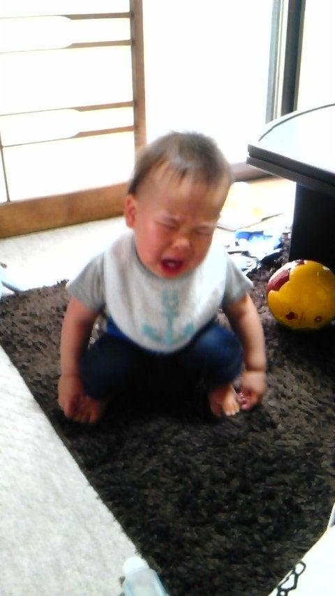 リーダーのブログ-サイゾー泣き