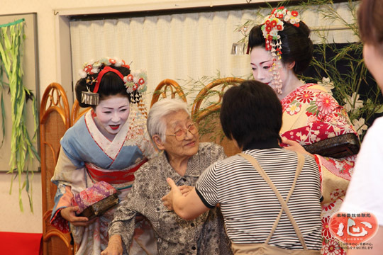 京都舞妓体験処『心』 スタッフブログ-舞妓体験ボランティア
