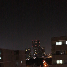 夜景の綺麗な時間帯に…