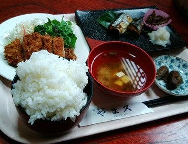 ときどきグルメになりたくなるブログ-秋田県能代市やま久のボリュームランチ2