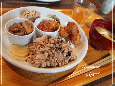 Nagano Life**-玄米ランチ
