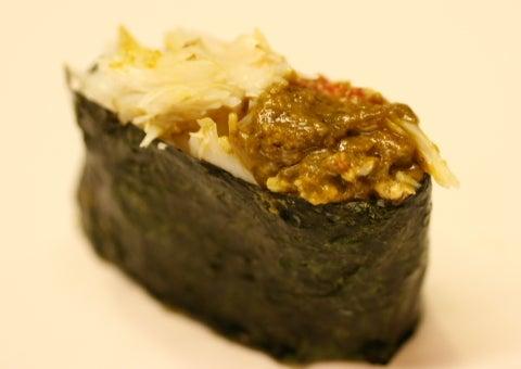 群馬県前橋市 寿司屋(すしや)の親父ブログ-kegani7