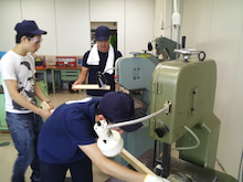 東工大国際開発サークル-創造工房作業