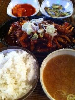韓国料理サランヘヨ♪ I Love Korean Food-テジジュムロック