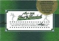 nash69のMLBトレーディングカード開封結果と野球観戦報告-2011 leaf baseball