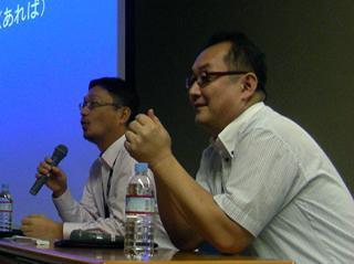 遠藤雅伸公式blog「ゲームの神様」-CEDEC2008ではモバイルセッションを一緒にやった