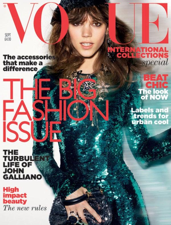 Vogue UK September 2011cover