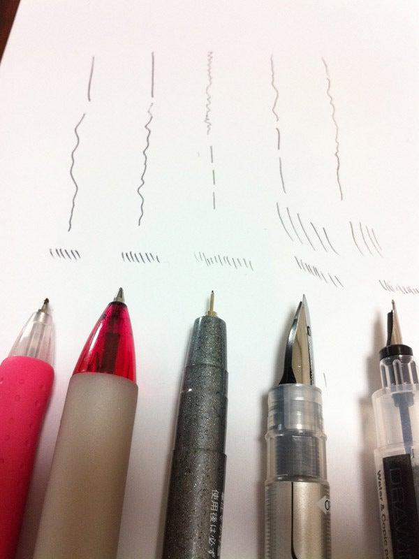 耐水 性 ペン にじま ない
