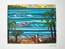 ERI's Happy Hawaiian Life-ヘザーブラウン絵画